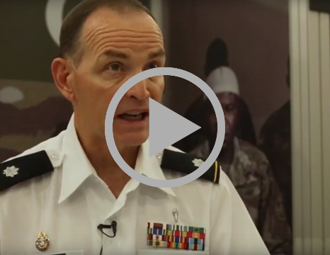 Lieutenant Steve Blackwell is recruiting Muslim Chaplains for the U.S. Army