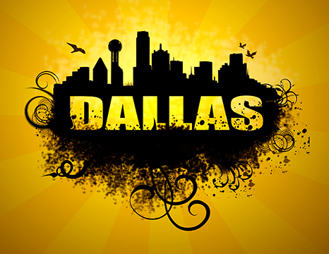 Dallas Logo Image Editing